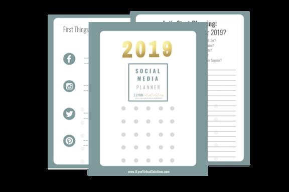 Social Media Planner | J. Lynn Virtual Solutions